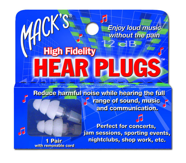 New! Mack's HEAR Plug